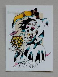 Chill Reaper (5x7) $10